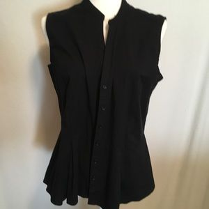 Apt. 9 Tops - Sleeveless button down top